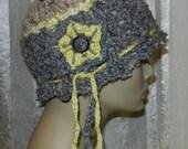 Women's Flapper Hat - Textured Yarn