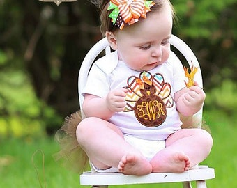 baby shower gift bodysuit fall thanksgiving outfit baby