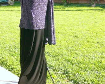 Black  dress plus size 16 with jacket made in usa
