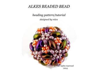 Alkes Beaded Bead - PDF file for personal use only