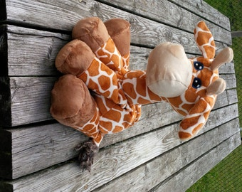 Plush Giraffe HEATING PAD Pattern - Digital Download