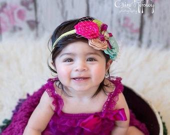 Baby Headband, Newborn Headband, Baby Girl Headband, Toddler Headband, Infant Headband, Girls Headband Multi-colored Headband