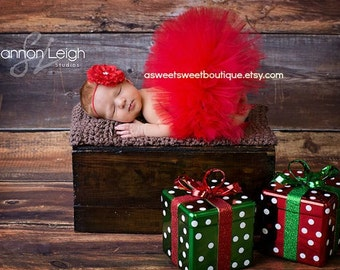 Red Baby Tutu Christmas Tutu Red Tutu Red Newborn Tutu Red Tutu And Headband Christmas Photo Prop Valentine's Day Photo Prop Cake Smash Tutu
