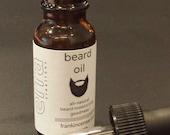 Beard Oil  - Glass Dropper 0.5 fl oz - Handcrafted Beard Oil