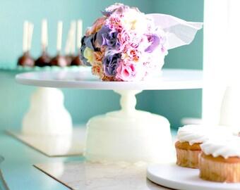 Cake Plate / Cake Stand / Cake Pedestal / Cake Dish / Cake Platter / Cake Server / Cake Salver / 16 inch