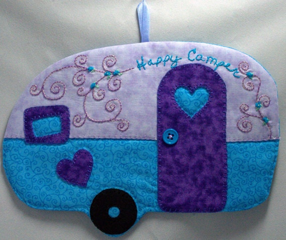 Happy Camper 22 Mug Rug