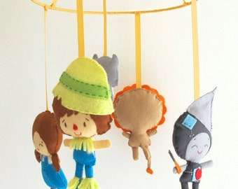 Wizard of Oz mobile for baby's room / nursery