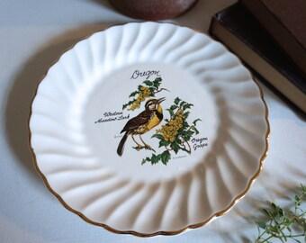 Oregon Souvenir Plate - Floyd Jones Vintage