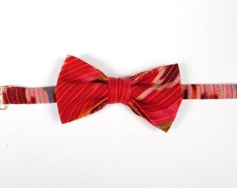 Ikat Bow Tie