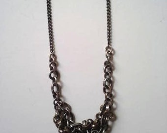 Small Cluster Chain Necklace