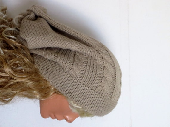 knit hat womens cable knit hat winter hat womens beanie