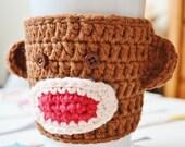 Sock Monkey Coffee Sleeve