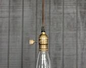 Reserved for AJ - Industrial Pendant Light, Industrial Light Fixture, Steampunk Lighting, Farmhouse Lighting