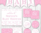 Little Snowflake Baby Shower Package - Baby It's Cold Outside.. DIY Printable Baby Shower Decorations.
