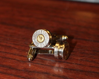 40 S&W Bullet Shell Cuff Links