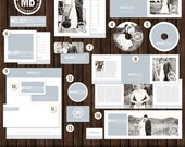 INSTANT Download14 Piece Marketing / Branding Set with Logo - MK2