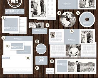 14 Piece Marketing / Branding Set with Logo - MK2