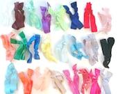 Etsy Shop Starter Kit to Make Elastic Hair Ties & Headbands - Wholesale FOE Elastic Grab Bag 20 Colors - Foldover Elastic DIY Hair Tie Kit