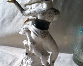 reserved for Jess: Mid Century Masquerade Statue