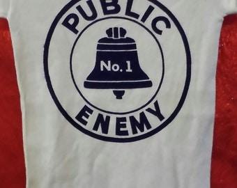 Unworn Deadstock Vintage PUBLIC ENEMY #1 T-Shirt NOS
