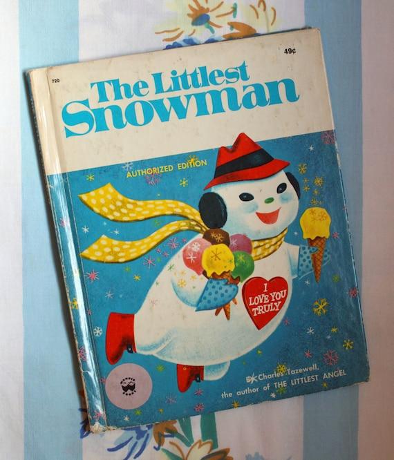 The Littlest Christmas Tree Story: The Littlest Snowman 1975 Wonder Book