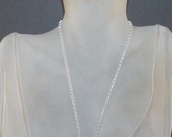 Black Swarovski Crystal Heart Necklace