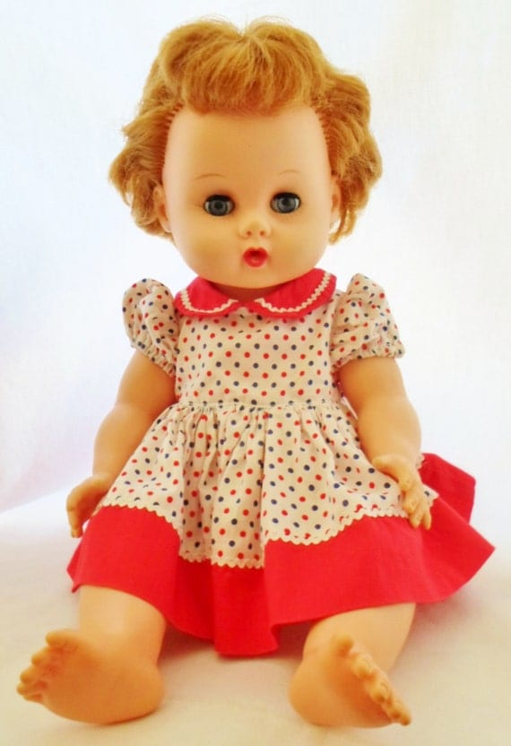 Vintage Vogue Ginny Baby Doll With Wardrobe Drink Amp Wet