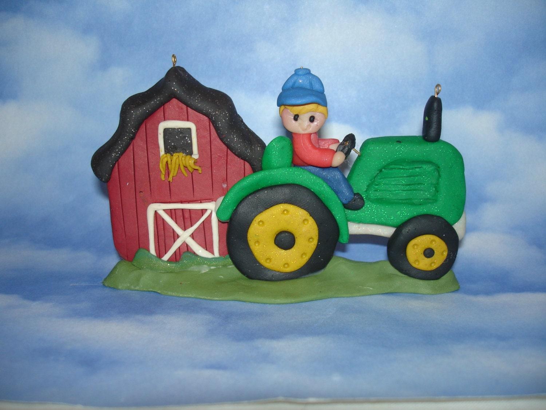 Tractor Cake Topper Australia