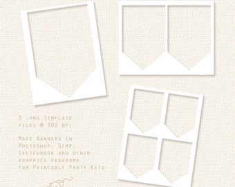 spearhead banner template party printable template png banner template file small commercial. Black Bedroom Furniture Sets. Home Design Ideas