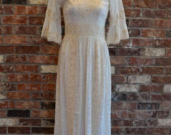 Gorgeous Ivory Bohemian Wedding Dress