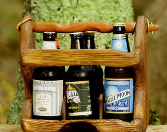 THE RELIC No. 1 - Beer Carton - Six Pack Carrier - Unique Gift - Cold Creek Brewing