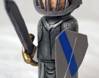 Knight Peg Doll