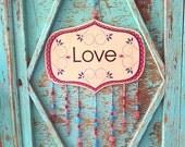 LOVE-Wood Sign-Love Decor...