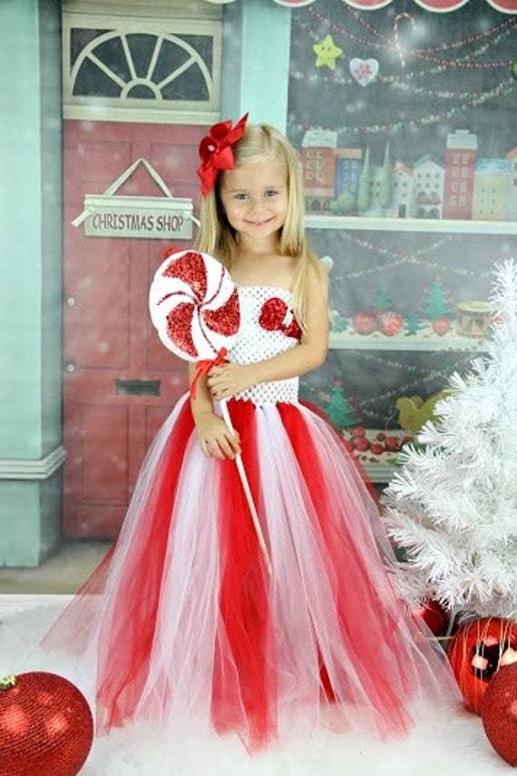 Christmas red and white sequin tutu dress by krystalhylton on etsy