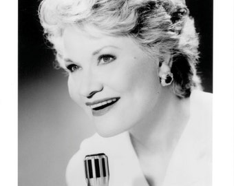 Patti Page Publicity Photo 8 By 10 Inches