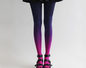 SALE! BZR Ombré tights in Nebulous