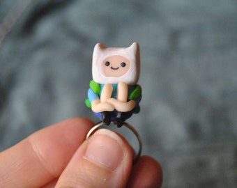 Finn the human ring - Adventure Time