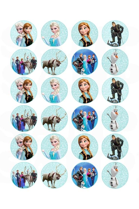 Items similar to Frozen Inspired Disney Birthday Hershey ...