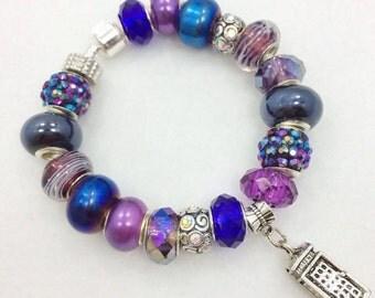 Dr. Who  European Style Charm Bracelet