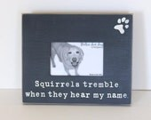 dog picture frame, dog breed gift, distressed picture frame