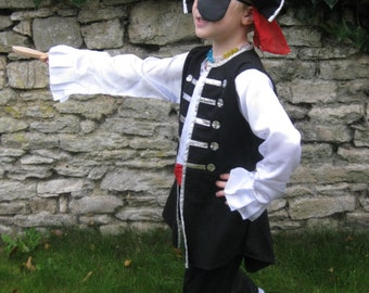 Boys pirate costume - fairylove