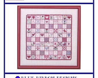 Sealed With A Kiss (BRD-045) Cross Stitch Design