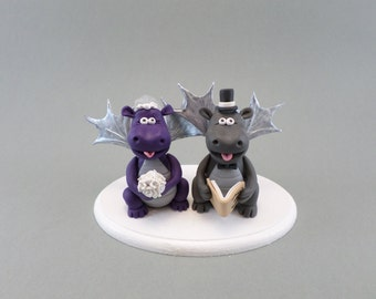 Customized Handmade Dragon Cake Topper