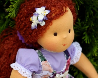 Waldorf doll classic  Lena, 15 -16 inches - a gift for girl