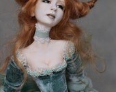 RESERVED for Tracy Bly - 4th Payment - OOAK Art Doll Sculpture Vysdenna UNDERLYN Fairy by Ksheyna Nightswood