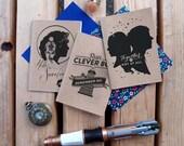Fandom Jots Pocket Notebooks: The Ponds, River, Oswin (set of 3 notebooks)