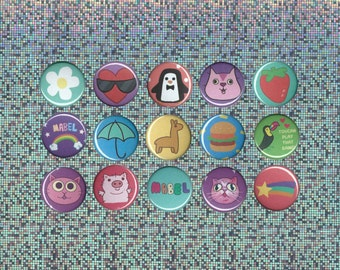 Gravity Falls-Inspired, Mabel Pines' Sweater Button Pack