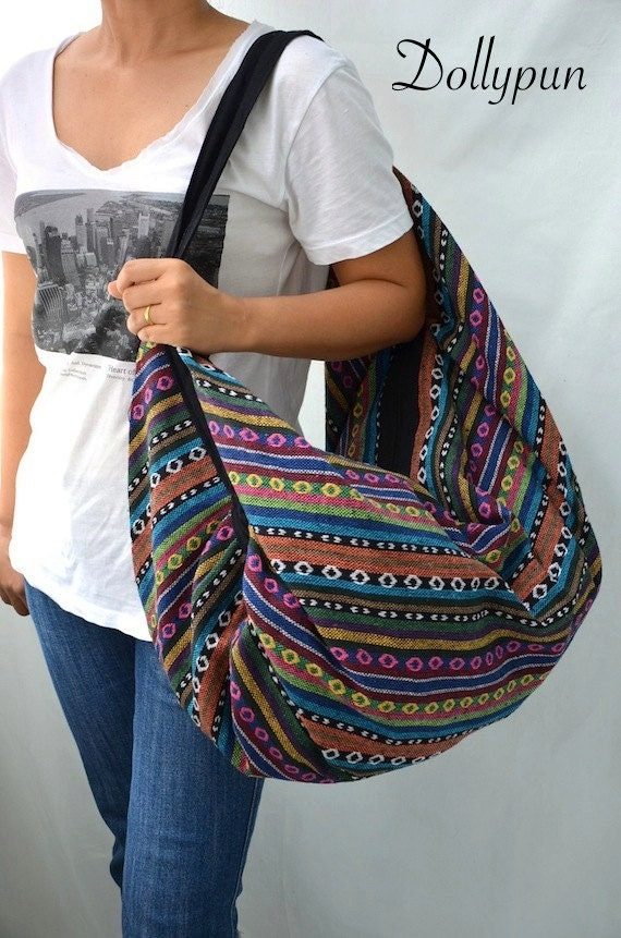 Nepali Hippie Shoulder Bag, Gypsy, Boho, Hobo, Backpack, Tote, Crossbody, Diaper bag, Handbag, Purse NEPSB188