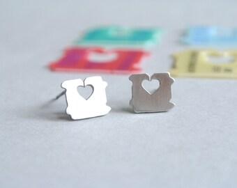 Heart Earrings, Love tag