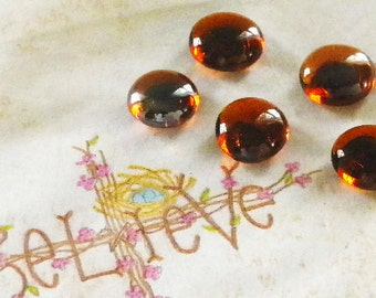 Set of 5 Decorative Pushpins Amber Glass Top Thumbtacks-Colorful Push Pins for Office, School or Kitchen. Buy 5 Sets Get the 5th FREE w/Code